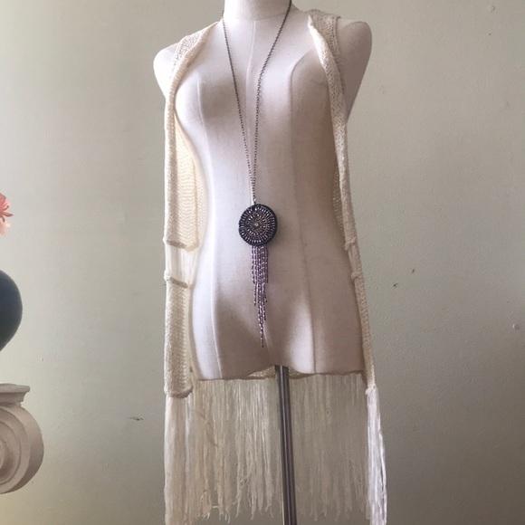 hippie vest Other - SWEET N SINFUL | hippie knit vest fringe XS